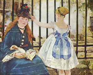 Edouard Manet, Die Eisenbahn (1872-73)