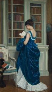 Auguste Toulmouche, Dans la Bibliotheque (1872)