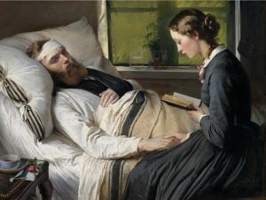 Elisabeth Jerichau-Baumann, Ein versehrter dänischer Soldat (1865)