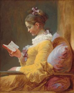 Jean-Honoré Fragonard, Die Leserin