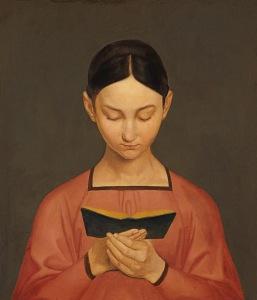 Gustav Adolph Hennig, Lesendes Mädchen (1828)