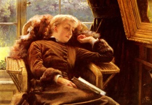 James Tissot, Kathleen Newton (1878)