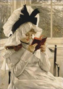 James Tissot, Reading a Book