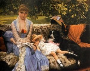James Tissot, Quiet (1881)