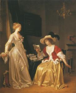 Jean Honoré Fragonard, Die Leserin (gemalt mit Marguerite Gérard), 1783-85
