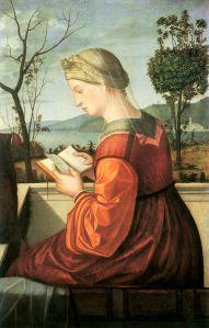 Vittore Capraccio, Lesende Muttergottes (gemeinfrei)