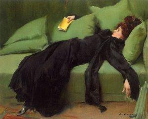 Ramon Casas, Jove decadent, 1899
