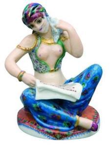 """Skulptur """"Der erwachende Orient"""", Jelena Danko"""
