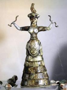 Schlangengöttin von Knossos