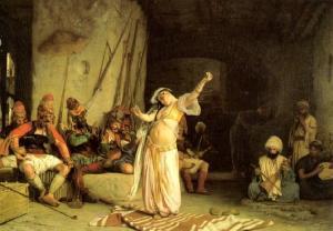 Tanz der Almeh, Jean Leon Gerome, 1863
